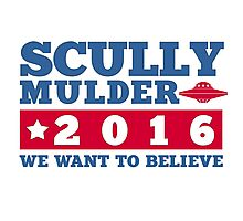 Scully & Mulder Campaign 2016 Photographic Print