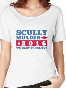 Scully & Mulder Campaign 2016 Women's Relaxed Fit T-Shirt