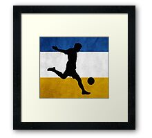 Chile Soccer Framed Print