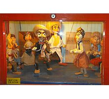 Puppets On A String Photographic Print