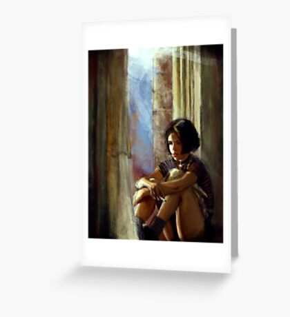 Mathilda Greeting Card