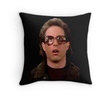 Jerry Wearing Glasses To Fool Lloyd Braun Throw Pillow