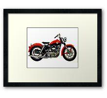 Harley 1950's Sportster Framed Print