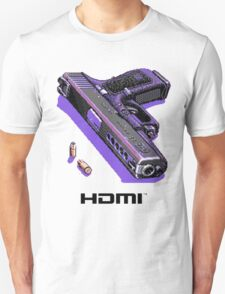 Bones Pixel Gun Unisex T-Shirt