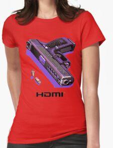 Bones Pixel Gun Womens Fitted T-Shirt
