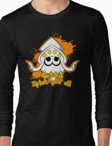 Gotta Splat em' all! Orange Long Sleeve T-Shirt