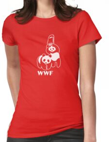 WWF Panda Womens Fitted T-Shirt
