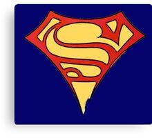 superman & supergirl Canvas Print