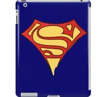 superman & supergirl iPad Case/Skin