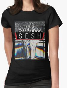 VHS PHARAOH // BONES // SESH  Womens Fitted T-Shirt