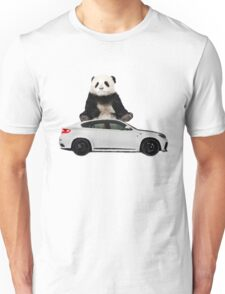 White X6 Look Like A Panda Unisex T-Shirt