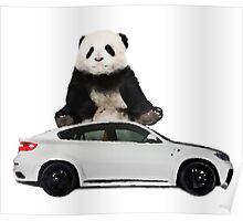 White X6 Look Like A Panda Poster