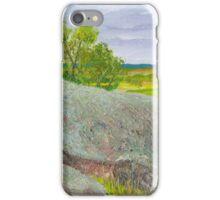 Bushranger Dan Morgan's granite boulder lookout iPhone Case/Skin