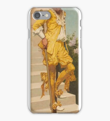 Jan van Beers, Lierre, – Fay-Aux-Loges, , The Woman with Stilts iPhone Case/Skin