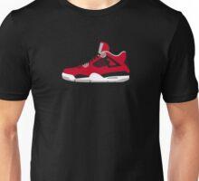 J4 - Red Unisex T-Shirt
