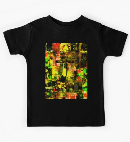 Bright Autumn Colours Collage Kids Tee