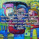 Oh soul by ART PRINTS ONLINE         by artist SARA  CATENA