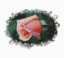 A Rosebud ~ Captured Sweetness One Piece - Short Sleeve