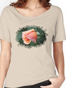 A Rosebud ~ Captured Sweetness Women's Relaxed Fit T-Shirt