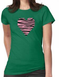0154 Baker-Miller Pink or Schauss Pink Tiger Womens Fitted T-Shirt