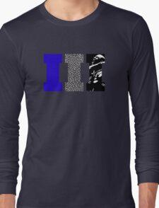 AJ3 - Art Sports Blue Long Sleeve T-Shirt