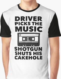 Driver picks the music Graphic T-Shirt
