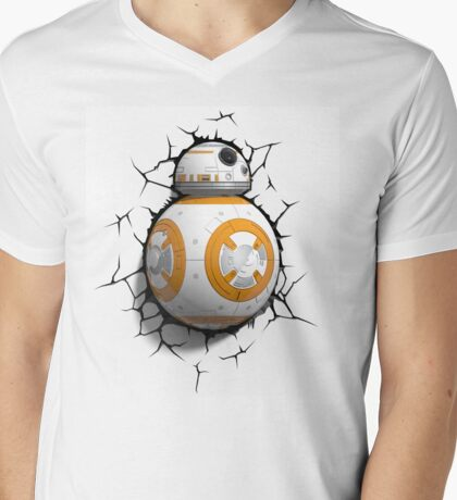 Robotic structure Mens V-Neck T-Shirt