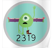2319 Monsters Inc Poster