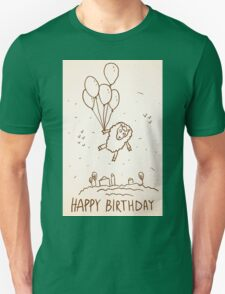 Funny sheep with balloons T-Shirt