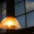 Vintage Ceiling Light - American Airpower Museum | Farmingdale, New York by © Sophie W. Smith