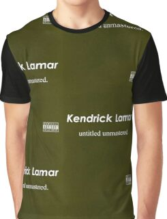 Kendrick Lamar- Untitled, unmastered Graphic T-Shirt