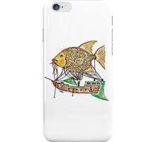 Fish Airship iPhone Case/Skin