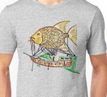 Fish Airship Unisex T-Shirt