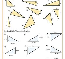 Pythagoras worksheets free download by cazoommaths