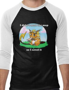 Rezreal - League of Pokemon Men's Baseball ¾ T-Shirt