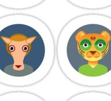 Chinese zodiac collection Sticker