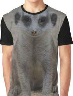 Cute Meerkat Graphic T-Shirt