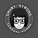 Smart Strong Sensual Woman by oneskillwonder