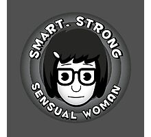 Smart Strong Sensual Woman Photographic Print