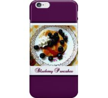 Blueberry Pancakes iPhone Case/Skin