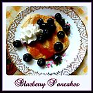Blueberry Pancakes by ©The Creative  Minds