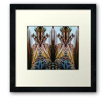 Palm mirror 1 Framed Print