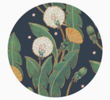 dandelion seamless pattern Baby Tee