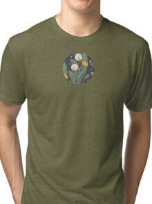 dandelion seamless pattern Tri-blend T-Shirt