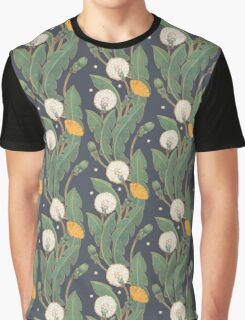 dandelion seamless pattern Graphic T-Shirt