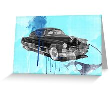 Cadillac Car Art  Greeting Card