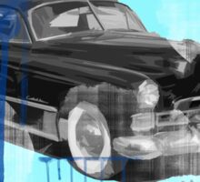 Cadillac Car Art  Sticker