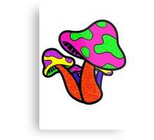 Vibrant Mushroom Metal Print