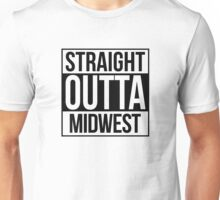 Straight Outta Midwest Unisex T-Shirt