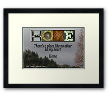 HOME--Wall Hanging Framed Print
